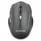 RAJFOO F4 2.4GHz Wireless 1600dpi Optical Mouse w/ USB 2.0 Port - Black (2 x AAA)