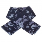 Multifunctional Outdoor Sports Bicycle Seamless Head Scarf for Men - Camouflage Blue