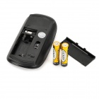 motospeed G101 USB wireless 1000 ~ 1600dpi mouse óptico - preto (2 * AAA)