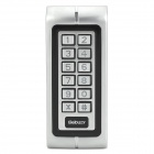 Sebury W1-B Waterproof Anti-Tamper Door Access Machine w/ Proximity Cards - Silver + Black