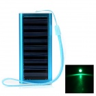 Universal-1350mAh Solar Power Battery Charger w / Adapter +
