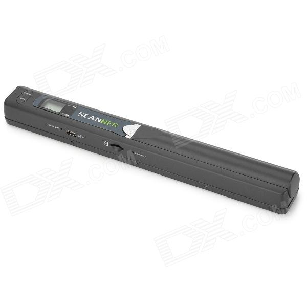 Heacent Portable Handheld Optical Scanner w/ Micro SD Slot / USB 2.0 - Black