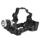 LL-6631 CREE XP-E Q5 160lm 3-Mode White Bicycle Headlamp - Black + Silver (1 / 2 x 18650)