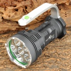 SKY RAY XY-600 1700lm 5-Mode White Light Handheld Flashlight w/ 6 x Cree XM-L T6 - Grey (4 x 18650)