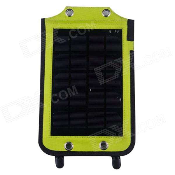 Outdoor Portable Solar Power Charger w/ USB Port for Cell Phone / PDA / MP3 + More (3.5W / 5.5V) portable outdoor 18v 30w portable smart solar power panel car rv boat battery bank charger universal w clip outdoor tool camping