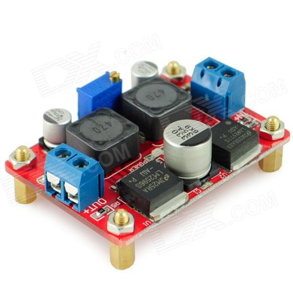 2577 / 2596 DC-DC Buck-Boost Module - Red dc dc buck boost module for solar battery board red lm2577s lm2596s