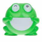 X.B.JINGPIN XB1805 Rechargeable Cute Frog Style 5W 90lm 6000K 12-LED Table Lamp - Green + White