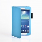 Protective PU Leather Case Cover Stand for Samsung Galaxy Tab 3 8.0 - Blue