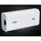 HAME R1 3-in-1 Wi-Fi 802.11b/g/n Adapter + Wireless 3G Router + 4400mAh Battery Charger - White