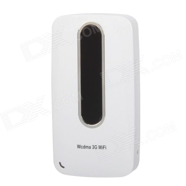 L10W 3G WCDMA Wireless Router + 3000mAh Mobile Power Battery Charger - White сетевое оборудование 3g wcdma usb dongle zte mf190 3g dvd 3g