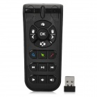 Measy RC10 2.4GHz Air Mouse Laser Pen IR Remote Control for PC TV BOX - Black (2 x AAA)