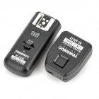YongNuo RF-602 2.4GHz Wireless Flash Trigger for Canon EOS 7D, 6D, 5D3, 5D2 - Black