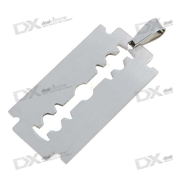 Titanium Alloy Pressure Reduction Necklace Pendant (Blade)