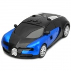 Running Car Style Intelligent Full Band Car Radar Detector - Blue + Black (English / Russian)