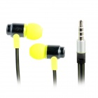 Wallytech WHF-116 In-Ear-Ohrhörer w / Mikrofon für Iphone / Ipad / Samsung - Fluorescent Grün