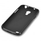 Protective TPU Back Case for Samsung Galaxy S4 Mini / i9190 - Black