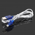 USB Male to Micro USB Male Data Sync / Charging Cable - Silver White (95cm)