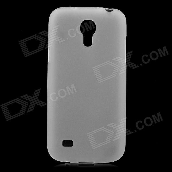 Protective TPU Back Case for Samsung Galalxy S4 Mini / i9190 - Transparent White