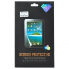Protective Matte PET Screen Guard w/ Glitter for Samsung Galaxy Tab 3 / P3200 - Transparent