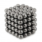 DIY 5mm Buckyballs NdFeB Magnetic Magic Beads - Tiefes Grau (125 PCS)