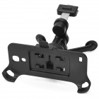 360' Rotating Car Air Outlet Mounted Plastic Holder Station for Samsung Galaxy S4 Mini i9190 - Black