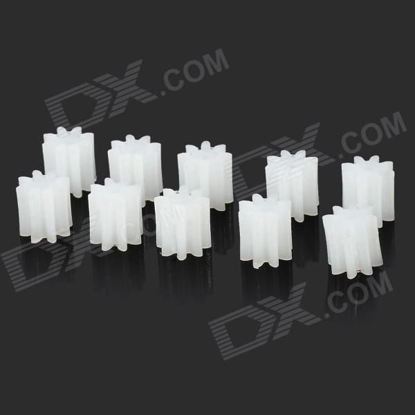 DIY Plastic 8-1A Shaft Spur Gear (10 PCS)