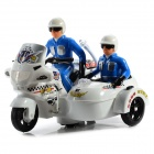 Children Electric Police Patrol Motorcycle Toy w/ Light and Music