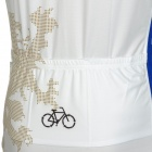 SPAKCT Stylish Lion Pattern Air-permeable Sleeveless Cycling Jersey - Multicolored (XXL)