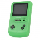 "HG-896 2.5"" Color Screen 16 Digit MD 101 Games Game Player - Green (3 x AAA)"
