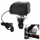 ME-0378 1000mAh Bicycle Generator / Charger for Cell Phone - Black