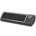 "SEE ME HERE LV520-III Portable 1.2"" LCD Stereo Speaker w/ FM / SD - Black + Silver"