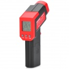 "(VR) 1.5"" LCD Dual Laser Infrared Thermometer - Black + Red (1 x 9V 6FF22 Battery)"
