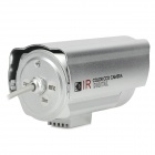 "Special Visual SV-8836 1/4"" CCD 600 Lines Surveillance Security Camera w/ 36-IR LED - Silver"