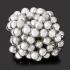 DIY 5mm Buckyballs NdFeB Magnetic Magic Beads - Weiß (125 PCS)