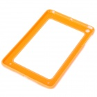 Protective ABS + Silicone Bumper Frame for Ipad MINI - Orange