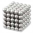 DIY 5mm Buckyballs NdFeB Magnetic Magic Beads - Silber (125 PCS)