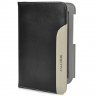KALAIDENG Multifunction Protective PU Leather + Microfiber Flip-Open Case for Samsung N5100 - Black