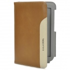KALAIDENG Multifunction Protective PU Leather + Microfiber Flip-Open Case for Samsung N5100 - Khaki
