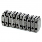 Square Style Dual Hole Magnets (10 PCS)