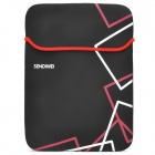 "SENDIWEI 14"" Protective Neoprene Inner Sleeve Bag for NoteBook - Black + Red"
