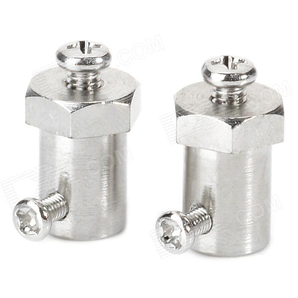 DIY 3mm N20 / M20 Gear Motor Coupling (2 PCS) diy aeromodelling motor universal coupling 4 x 3mm