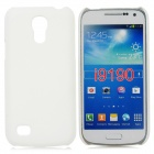 Stylish Protective Matte Frosted PC Back Case for Samsung Galaxy S4 Mini - White