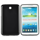 Protective Soft TPU Back Case for Samsung Galaxy Tab3 P3200  - Black