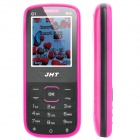 "JHT G1 GSM Bar Phone w/ 1.8"" LCD Screen, Dual-SIM, Bluetooth and FM - Black + Deep Pink"