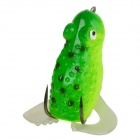 YSO538 Frog Style Lifelike Rubber Fishing Bait - Green