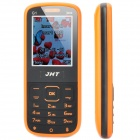 "JHT G1 GSM Bar Phone w/ 1.8"" LCD Screen, Dual-SIM, Bluetooth and FM - Black + Orange"