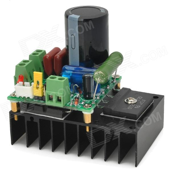 008 0030 10~110V 10A DC Motor Speed Control / PWM MACH3 Speed Control - Black + Green