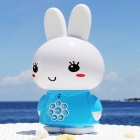 Alilo G6 Cute Rabbit Style Children's English Song & Story Player Machine - White + Blue