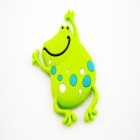 3.3 x 5.5cm Cute Cartoon Magnets Rubber Stickers - Blue + White + Yellow Green