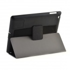 Cool Skull Pattern Protective PU Leather Case Stand for Ipad 2 / 3 / 4 - Black